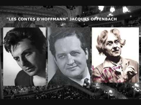 W. Kmentt, Th, Tipton & N. Falzetti -Les Contes D'Hoffmann-Trio-Act III-A mon pouvoir vainqueur