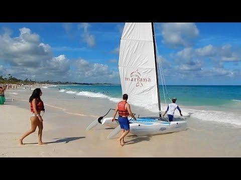 Beach Walk In Punta Cana Occidental And Bahia Resort Beaches