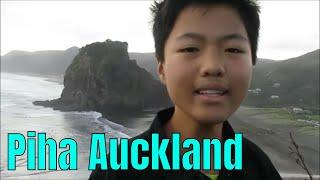 Piha beach, Auckland, New Zealand