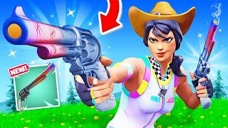 The *EXOTIC* SIX SHOOTER Challenge in Fortnite!