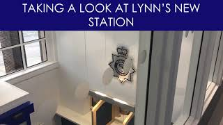 Taking a look behind King's Lynn's new Police Station