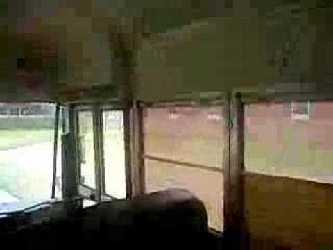 Marvelous Blue Bird School Bus Interior