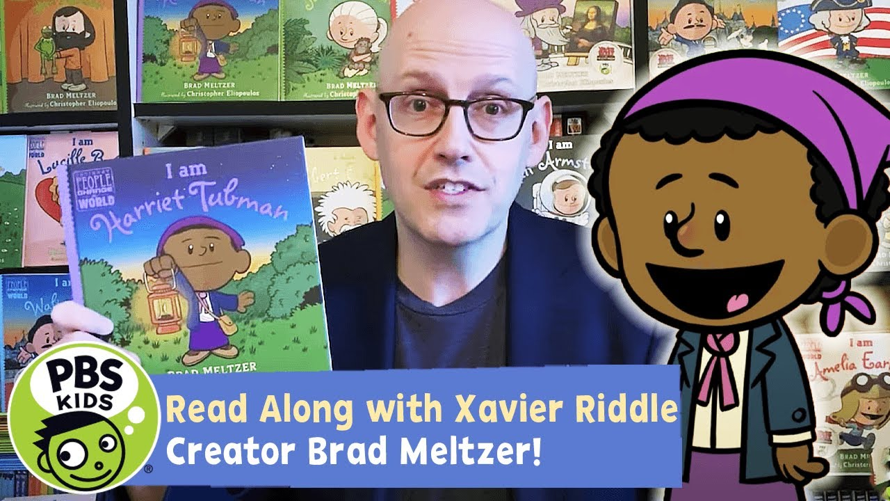 I Am Harriet Tubman | Xavier Riddle READ ALONG!