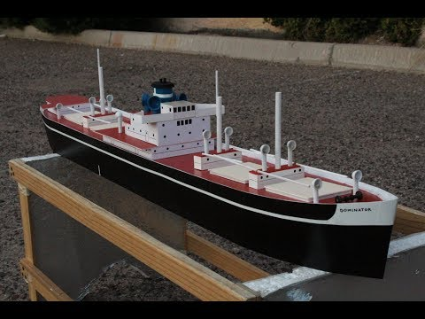 Liberty Ship model in ONE DAY! How I did it.