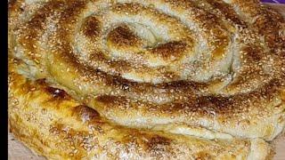 Турецкий бёрек рецепт Бёрек с фаршем Бурек с мясом и с сыром Турецкий бурек