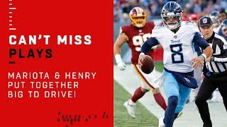 Henry & Mariota Make Sure Redskins Remember the Night They Played the Titans!