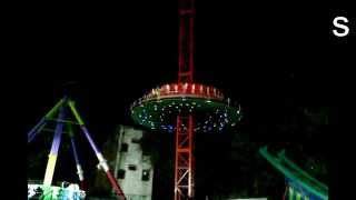 Go-high on the pole ride : All India Industrial Exhibition,Hyderabad.