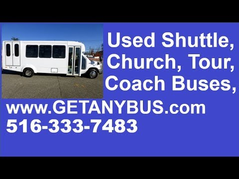 Used shuttle bus for sale Craigslist | Call 516-333-7483 | 2013 Ford E450  Wheelchair Shuttle Bus