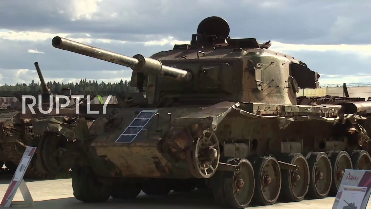 Russia: Weapons and equipment captured in Syria debut at 'Army 2018'