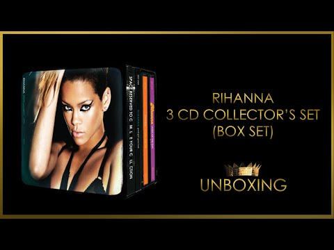 Rihanna - 3CD Collector's Set Unboxing