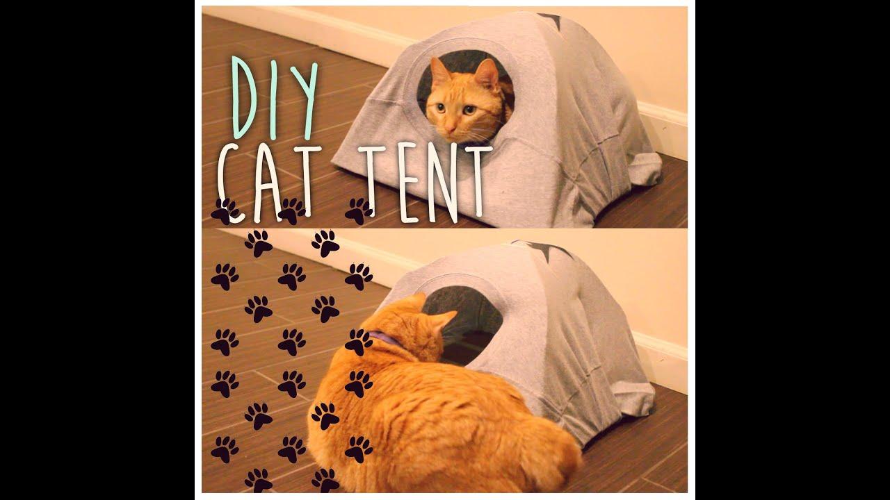 Tipi Pour Chat A Fabriquer diy cat tent | artsypaints