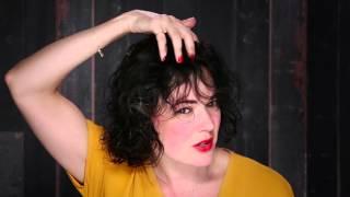 كيفية أسلوب تجعيد الشعر لينة | Bb. حليقة | تلعثم و تلعثم.