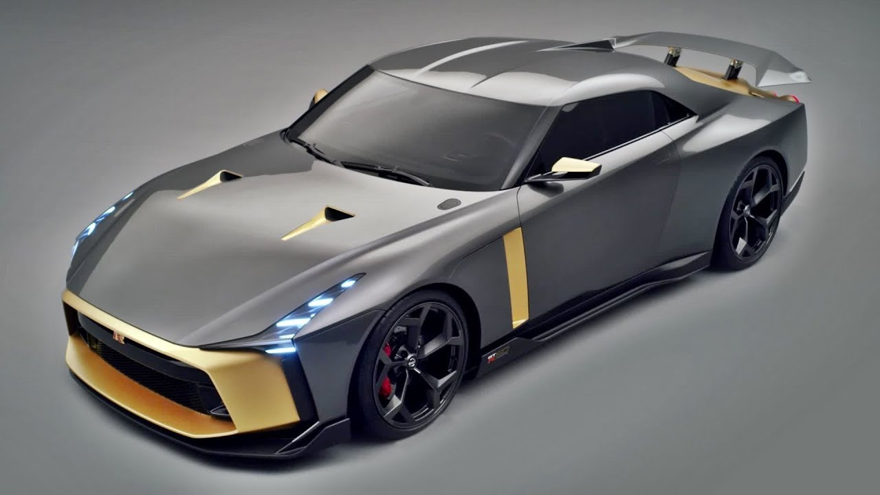 Nissan Gtr R36 >> 2019 Nissan GT-R italdesign - Return of the king! - YouTube