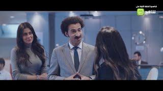 سك على اخواتك | مشهد مضحك .. سعادة يمر على موظفين شركته .. شاهد مافعله!