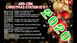 ABS-CBN Christmas Station ID NON-STOP (2009-2020)