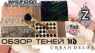 Тени Urban Decay, Gwen Stefani, Naked, Vice, Basics. Обзор