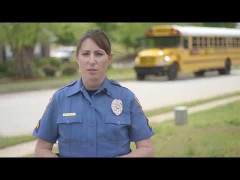 Gwinnett County Police Department School Bus Traffic Law Safety Video