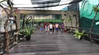 The V. I. Ps went to Manila