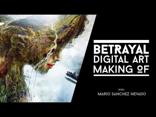 Betrayal - Photoshop Making of by Mario Sanchez Nevado