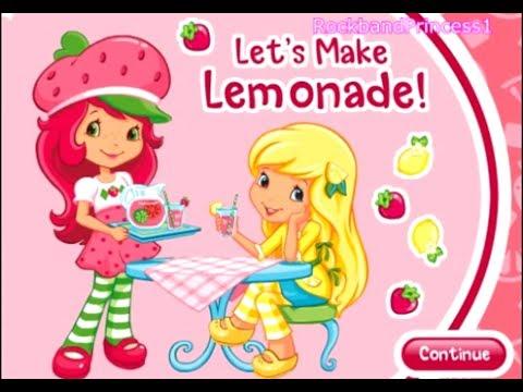 Strawberry Shortcake Online Games We Make Lemonade Game ...