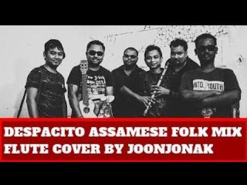 DESPACITO Luis Fonsi ft Daddy Yankee INSTRUMENTAL FLUTE COVER Assamese Folk mix by Joonjonak