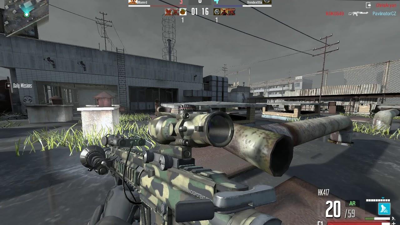 Line of Sight: Noobs Vs Pro (Team Survival)