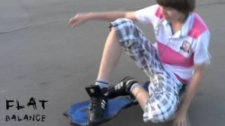 Новый стиль катания на двухколесном скейте Flat_Balance #2 (level UP)
