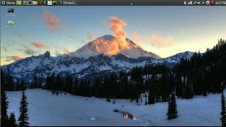 Linux Mint Урок 03 Установка смены обоев, загрузчика операционных систем BURG