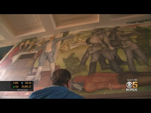 In a Reversal, The San Francisco School Board Has Voted to Cover, Not Destroy, a Series of Controversial High School Murals