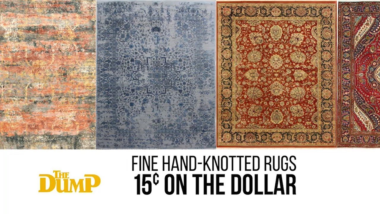 The Dump Rug Outlet Hand Knotted Rugs At 15 On Dollar