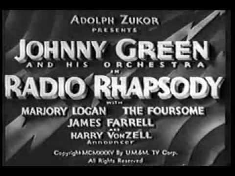 Radio Rhapsody - Johnny Green & His Orchestra, 1935