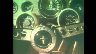 1966 Ford Mustang Commercials (5 of 9) Fountain of Youth TV Ad