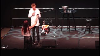 Woman Tries To Show Nudes To Comedian - Frenchy Vs The Crowd #13