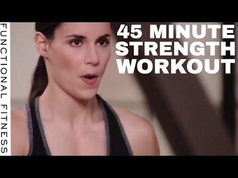 45-Min Strength Workout   Level 1 W/ Brent Bishop