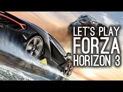 Forza Horizon 3 Gameplay: Let's Play Forza Horizon 3 - Lamborghini Centenario
