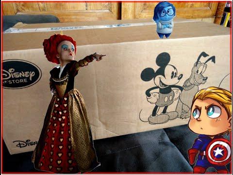 Ouverture d'un colis du Disneystore - Du Alice mais pas que .. :D