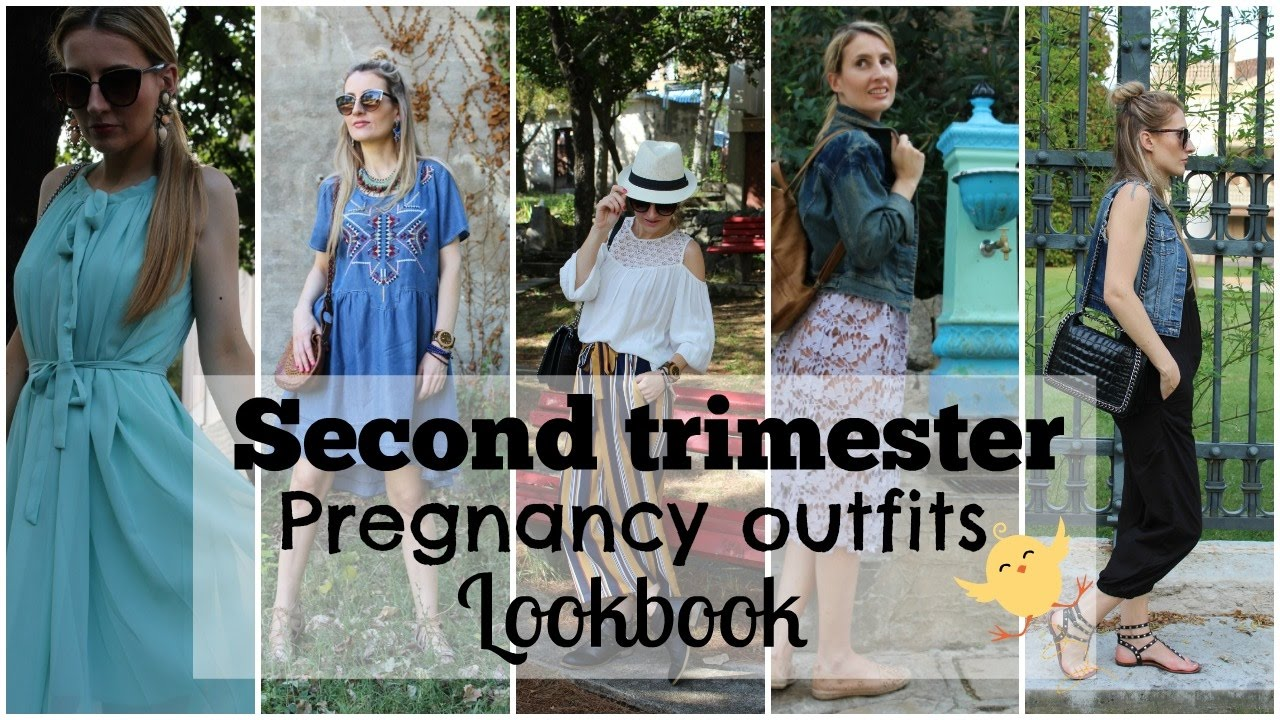 04c28feb52f SECOND TRIMESTER PREGNANCY OUTFITS LOOKBOOK