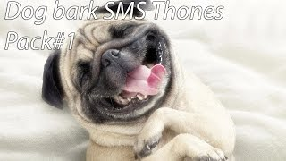Dog Bark Ringtones Pack#1