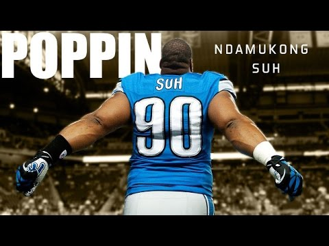 "Ndamukong Suh || ""Poppin"" ᴴᴰ 