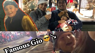 Christmas Parade with the FAMOUS GIO!!!