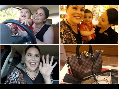 Massi's First time to LOUIS VUITTON | Full Day VLOG