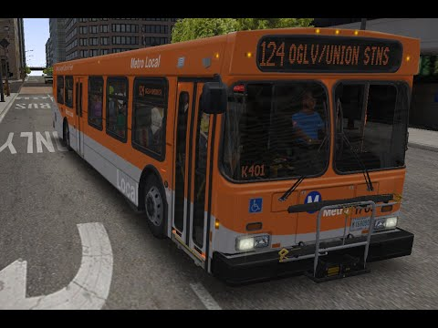 LACMTA NEW FLYER D40LF DEMO BUS IN CHICAGO ( OMSI 2 BUS SIMULATOR
