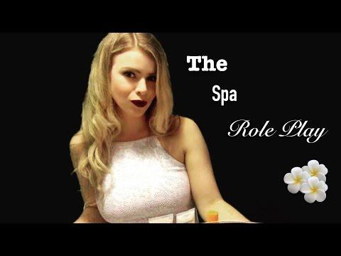 ASMR Spa Role Play | 3D, Binaural, Ear to Ear, Soft Spoken, Many Triggers