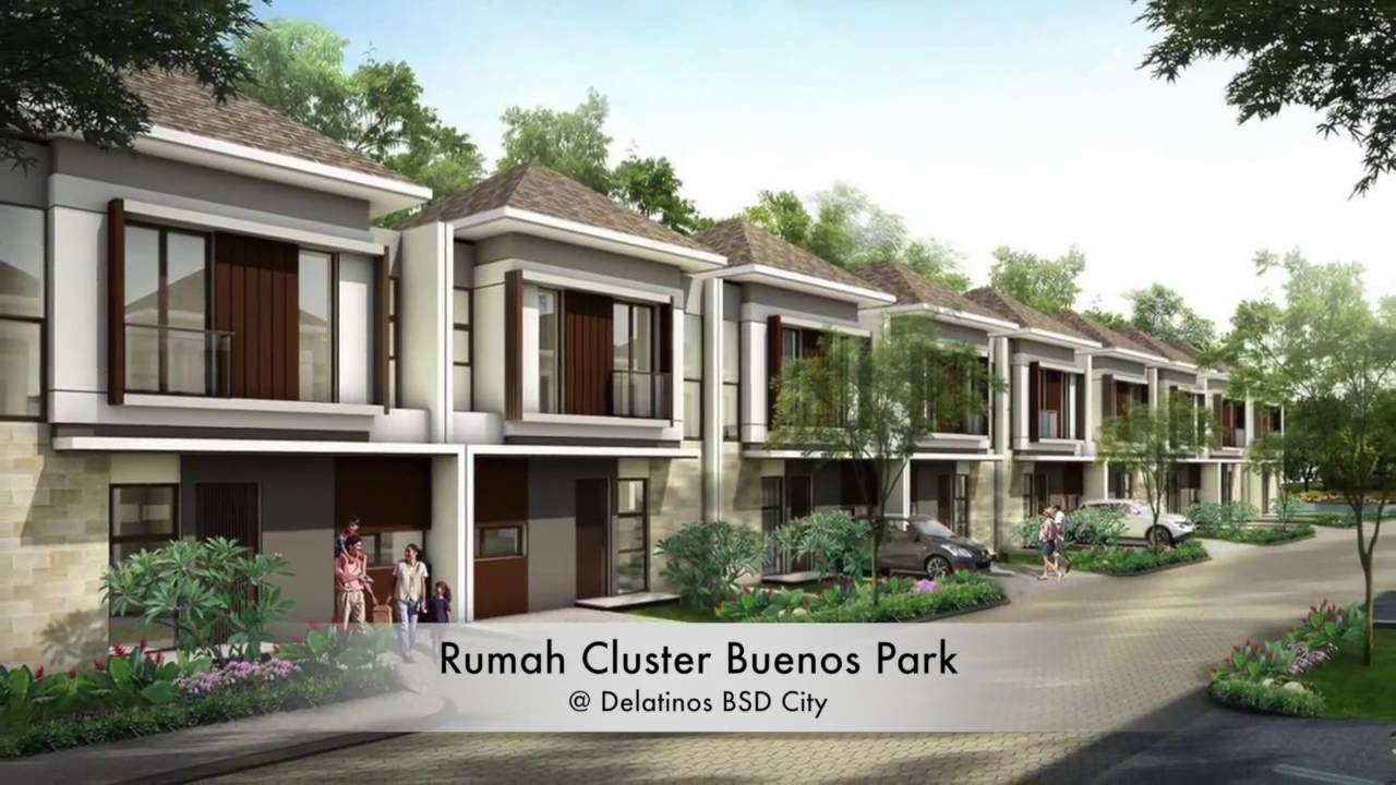 Cluster Buenos Park Delatinos BSD City - YouTube on