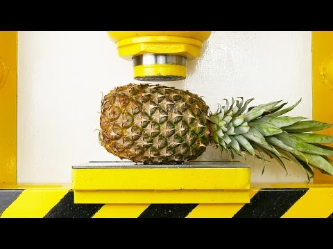 Thumbnail: Pineapple Apple VS Hydraulic Press