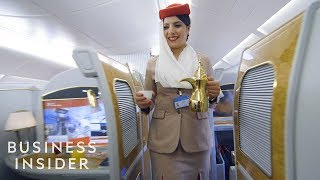 What It Takes To Be A First Class Flight Attendant For Emirates