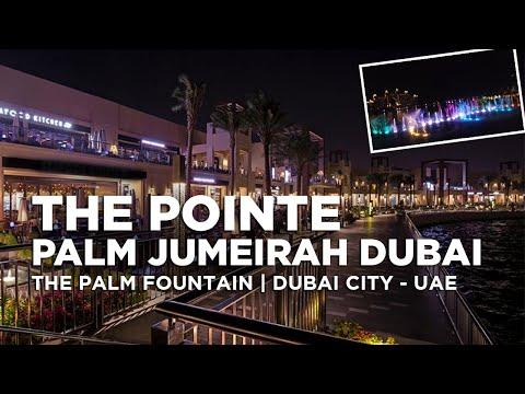 The Pointe in Palm Jumeirah Dubai   The Palm Fountain   Dubai Attractions   Dubai City – UAE