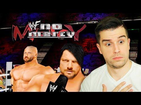 WWF No Mercy 2K17 - Ep 2 - AJ SAID WHAT?!! (CHAMPIONSHIP MODE!!)