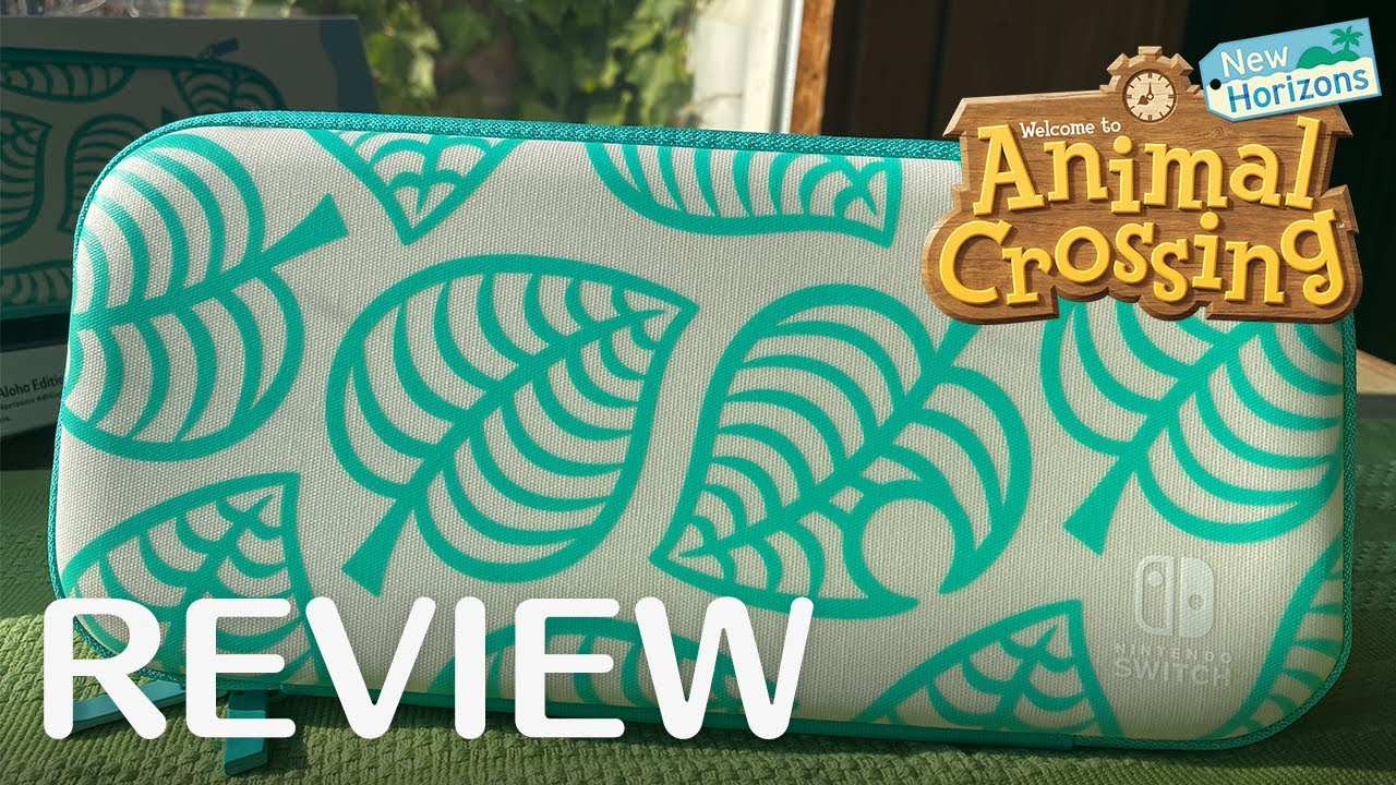 Review Animal Crossing New Horizons Aloha Edition Carrying Case
