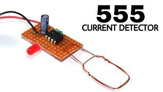 الحالي للكشف عن الدائرة باستخدام 555 ic | AC الحالي اختبار